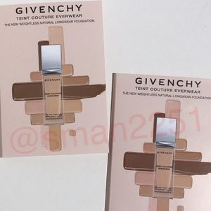 🔝4 for $15!💖Givenchy Teint Couture Everwear Fndt